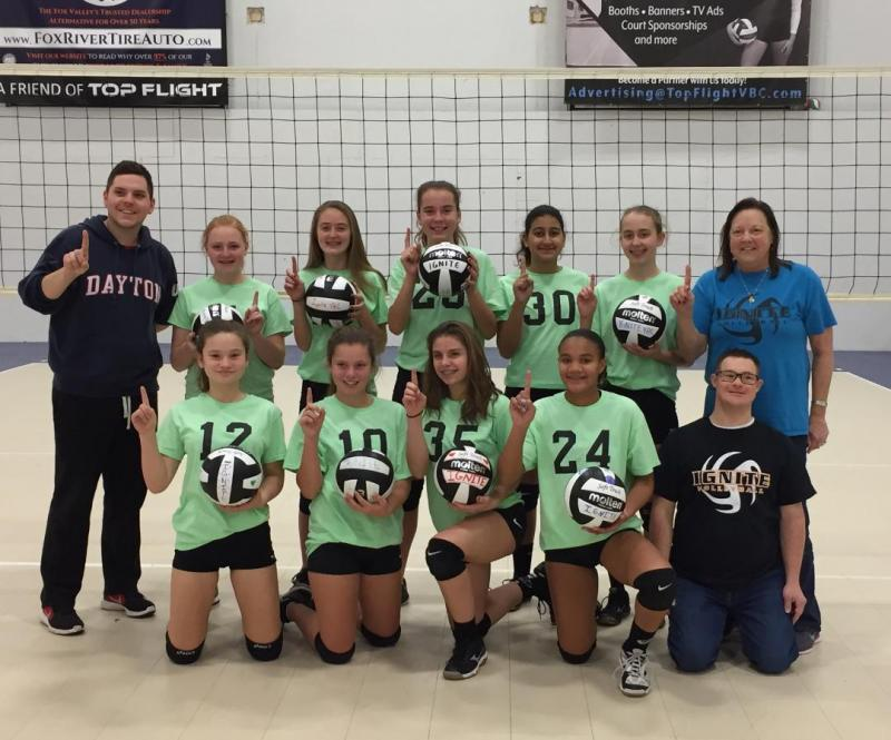 IGNITE 14 BLAZE STARTS THE NEW SEASON WITH A PERFECT 8-0 DAY AND A FIRST PLACE F